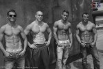 Models: (L-R), Scott O, Chris, Joe, Scott C